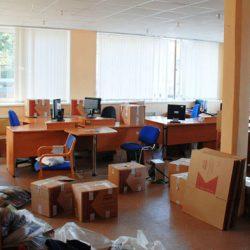 Перевозка офисного имущества