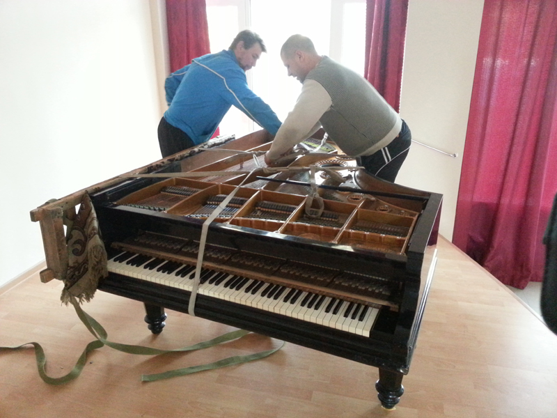 Перевезти пианино Днепропетровск