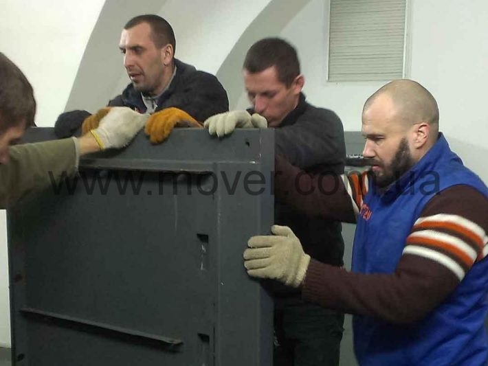 Перевозка сейфов Днепропетровск 2 го и 8 го класса защиты.